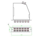24芯MTP配线盒A